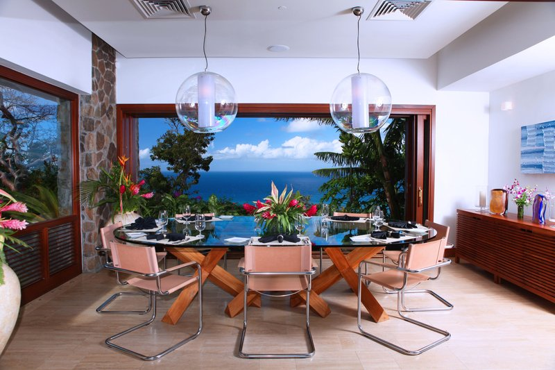 Young  Island  Resort-Il Sogno Five Bedroom Villa Dining Room<br/>Image from Leonardo