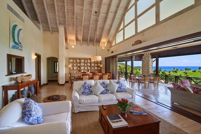 Young  Island  Resort-Carenage Four Bedroom Villa Living Room<br/>Image from Leonardo
