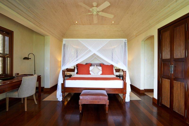 Young  Island  Resort-Carenage Four Bedroom Villa Cottage Bedroom<br/>Image from Leonardo