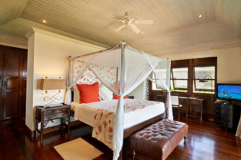 Young  Island  Resort-Carenage Four Bedroom Villa Master Bedroom<br/>Image from Leonardo