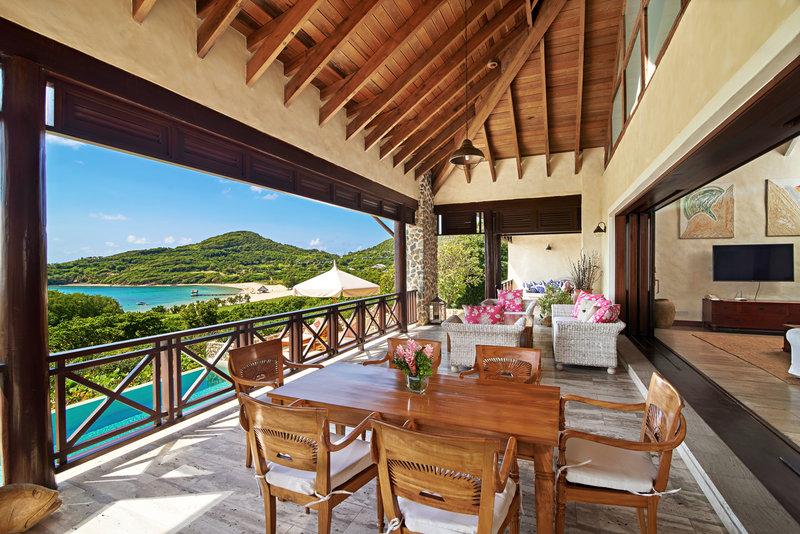 Young  Island  Resort-Carenage Four Bedroom Villa Patio<br/>Image from Leonardo