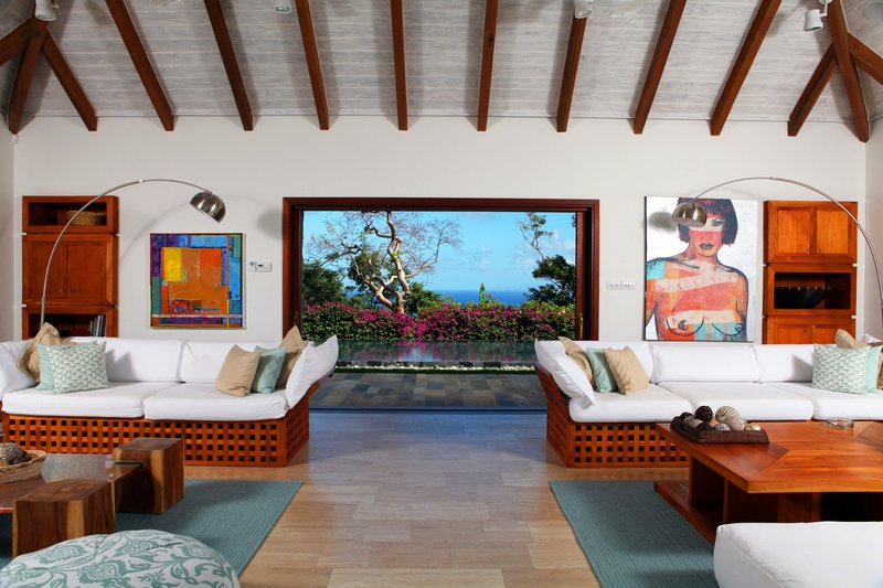 Young  Island  Resort-Il Sogno Five Bedroom Villa Living Room<br/>Image from Leonardo