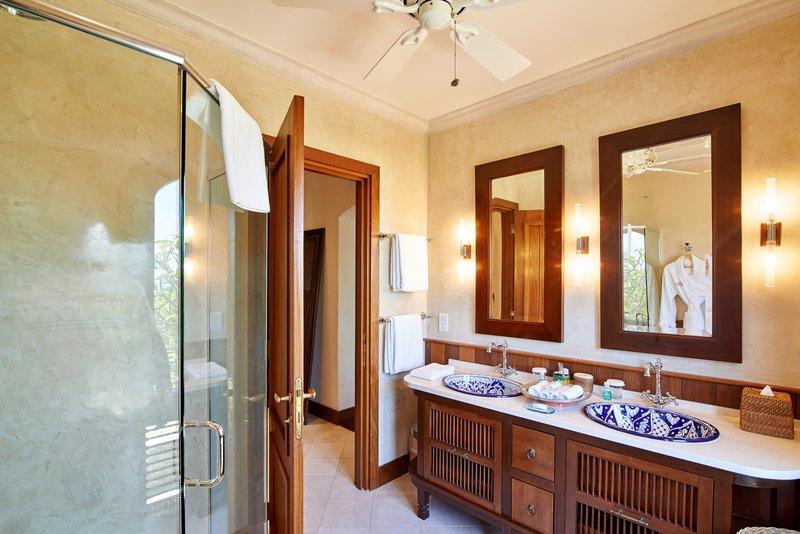Young  Island  Resort-Carenage Four Bedroom Villa GuestBath<br/>Image from Leonardo