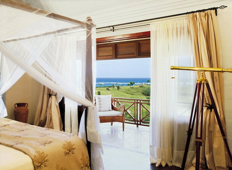 Young  Island  Resort-Carenage Four Bedroom Villa Guest Bedroom<br/>Image from Leonardo
