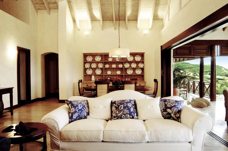 Young  Island  Resort-Carenage Four Bedroom Villa Living Dining Room (SL)<br/>Image from Leonardo