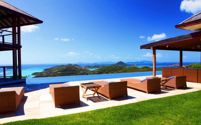 Young  Island  Resort-Il Sogno Five Bedroom Villa View<br/>Image from Leonardo