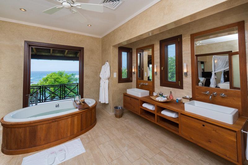 Young  Island  Resort-Little Blue Ocean Four Bedroom Villa Bathroom<br/>Image from Leonardo