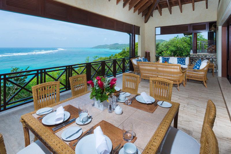 Young  Island  Resort-Little Blue Ocean Four Bedroom Villa Exterior<br/>Image from Leonardo