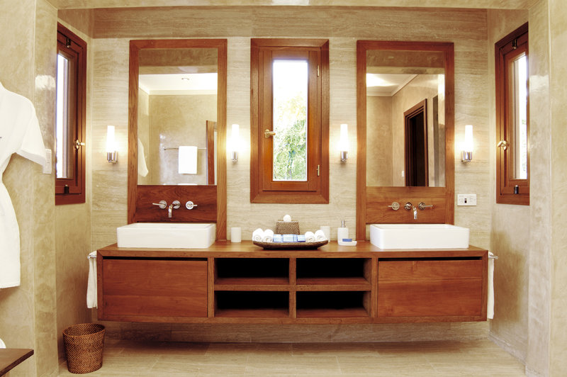 Young  Island  Resort-Silver Turtle Six Bedroom Villa Master Bathroom (SL)<br/>Image from Leonardo