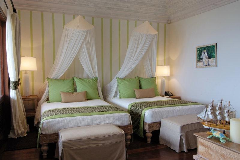 Young  Island  Resort-Silver Turtle Six Bedroom Villa Guest Bedroom<br/>Image from Leonardo