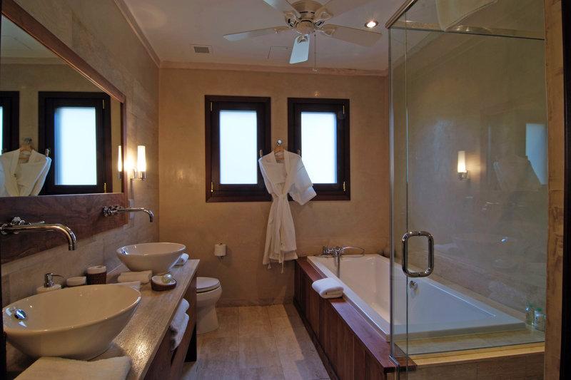 Young  Island  Resort-Silver Turtle Six Bedroom Villa Guest Bathroom<br/>Image from Leonardo