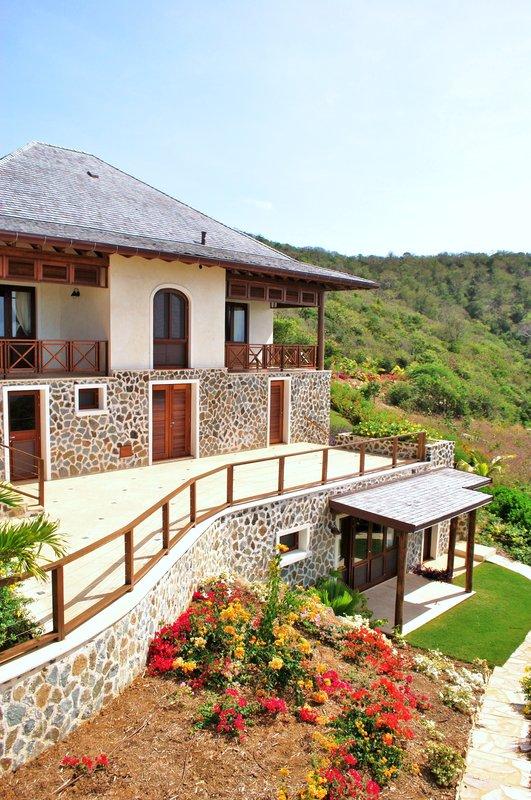 Young  Island  Resort-Silver Turtle Six Bedroom Villa Exterior<br/>Image from Leonardo