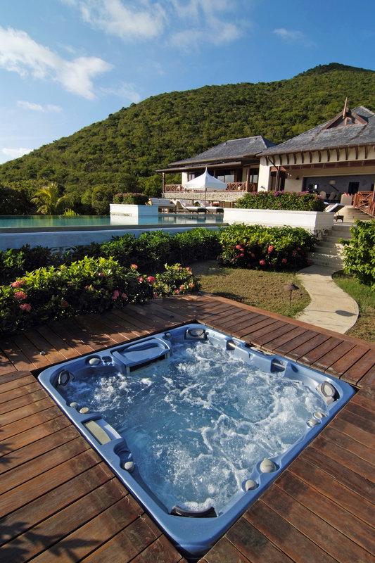 Young  Island  Resort-Silver Turtle Six Bedroom Villa Jacuzzi<br/>Image from Leonardo
