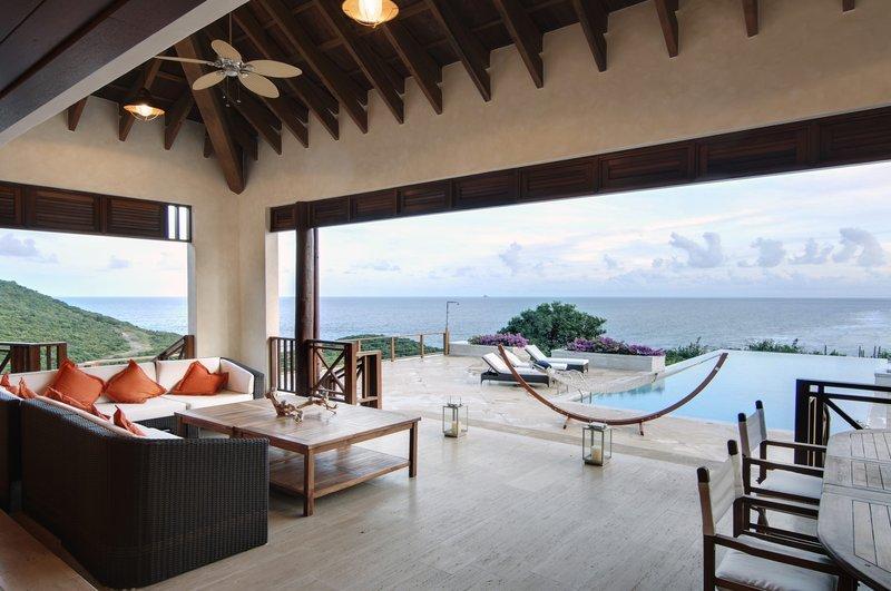 Young  Island  Resort-Silver Turtle Six Bedroom Villa Terrace Pool<br/>Image from Leonardo