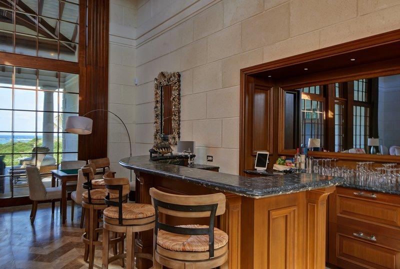 Young  Island  Resort-Turtle Creek Five Bedroom Villa Bar<br/>Image from Leonardo