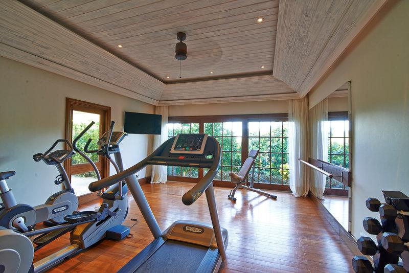 Young  Island  Resort-Turtle Creek Five Bedroom Villa Private Fitness Center<br/>Image from Leonardo