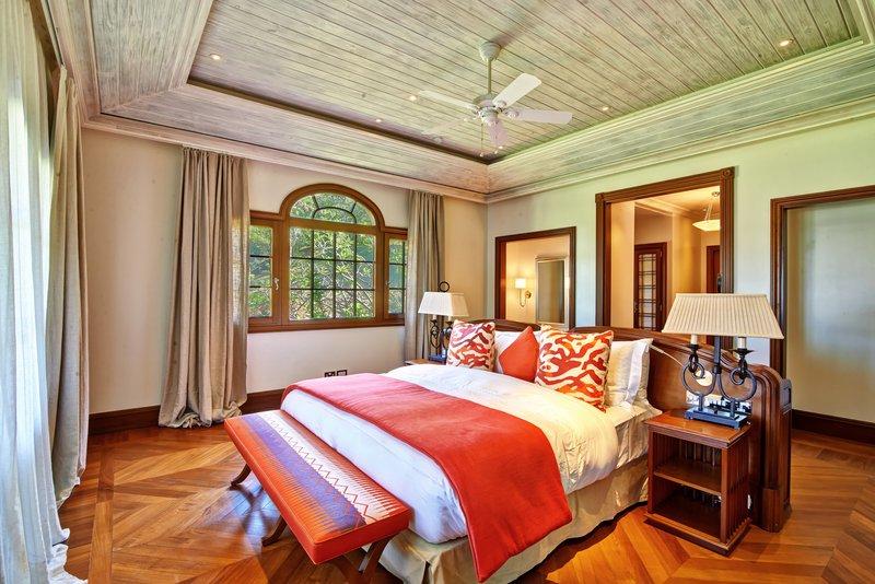 Young  Island  Resort-Turtle Creek Five Bedroom Villa Guest Bedroom<br/>Image from Leonardo