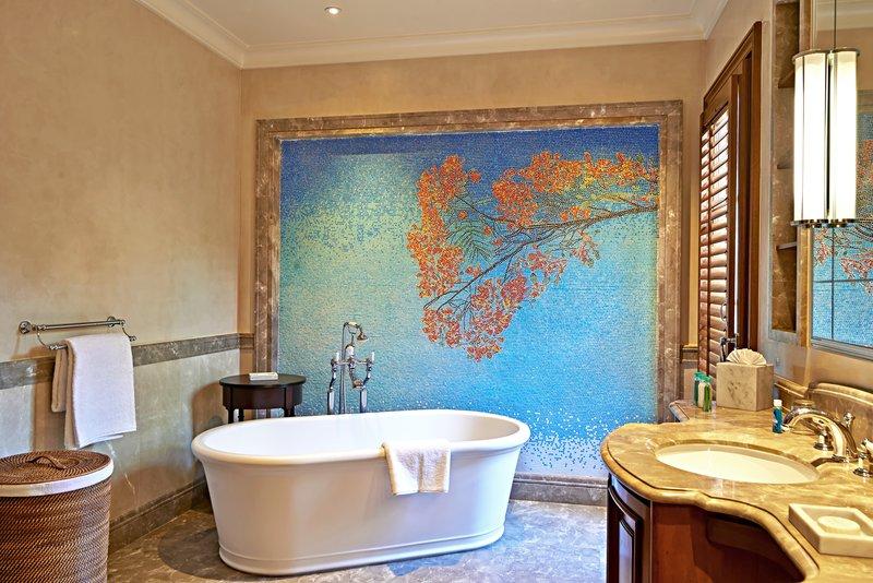 Young  Island  Resort-Turtle Creek Five Bedroom Villa Master Bathroom<br/>Image from Leonardo