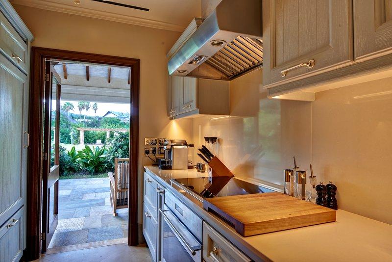Young  Island  Resort-Turtle Creek Five Bedroom Villa Private Cottage Kitchen<br/>Image from Leonardo