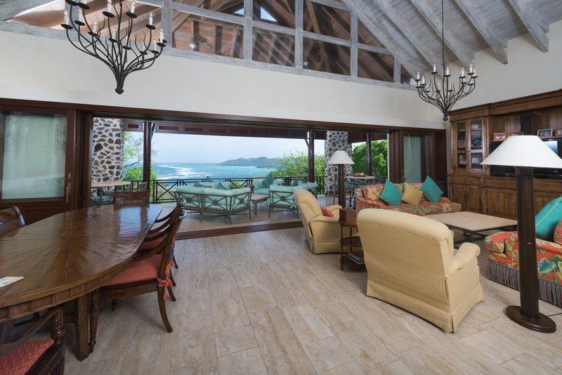 Young  Island  Resort-Villa Ritz Four Bedroom Villa Living Area<br/>Image from Leonardo
