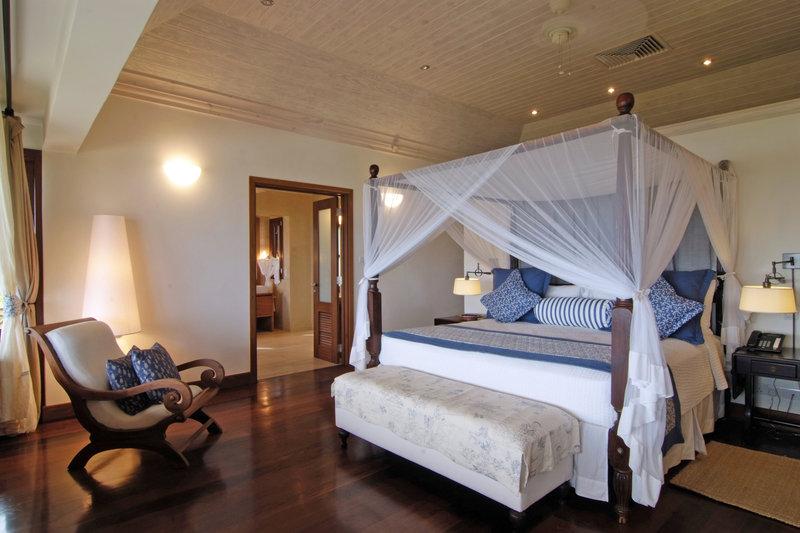 Young  Island  Resort-Villabu Four Bedroom Villa Master Bedroom<br/>Image from Leonardo
