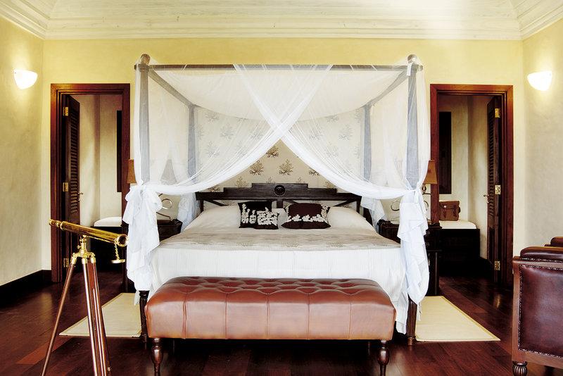 Young  Island  Resort-Villamia Three Bedroom Villa Master Bedroom<br/>Image from Leonardo
