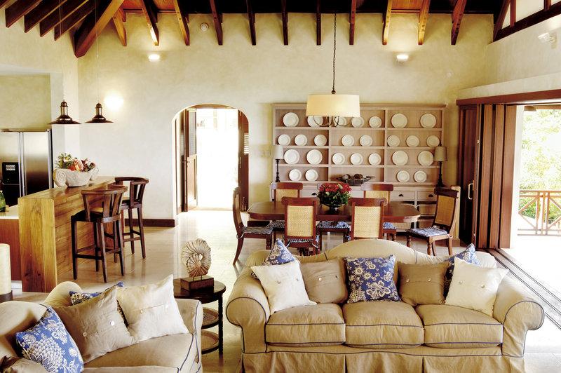 Young  Island  Resort-Villamia Three Bedroom Villa Living Room<br/>Image from Leonardo