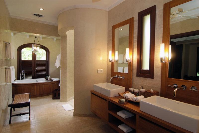 Young  Island  Resort-Else Where Two Bedroom Villa Master Bathroom<br/>Image from Leonardo