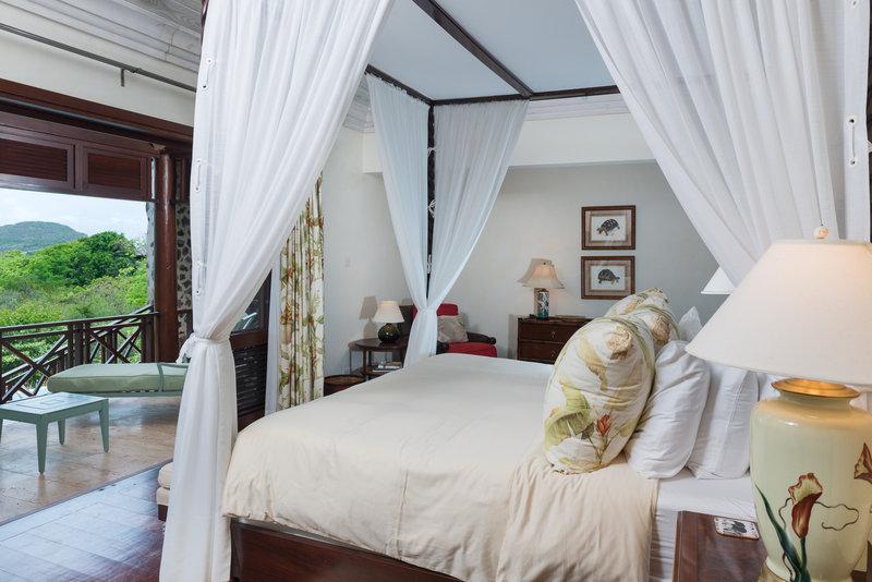 Young  Island  Resort-Villa Ritz Four Bedroom Villa Master Bedroom<br/>Image from Leonardo