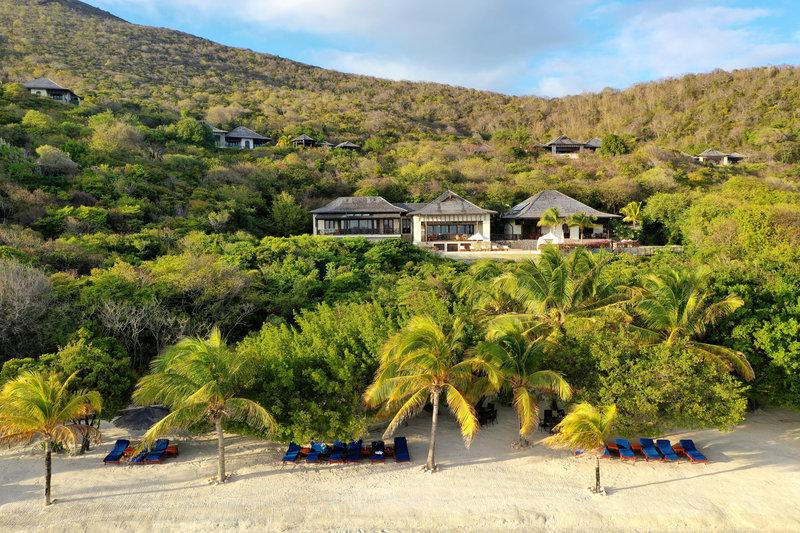 Young  Island  Resort-Big Blue Ocean Five Bedroom Villa Beach<br/>Image from Leonardo
