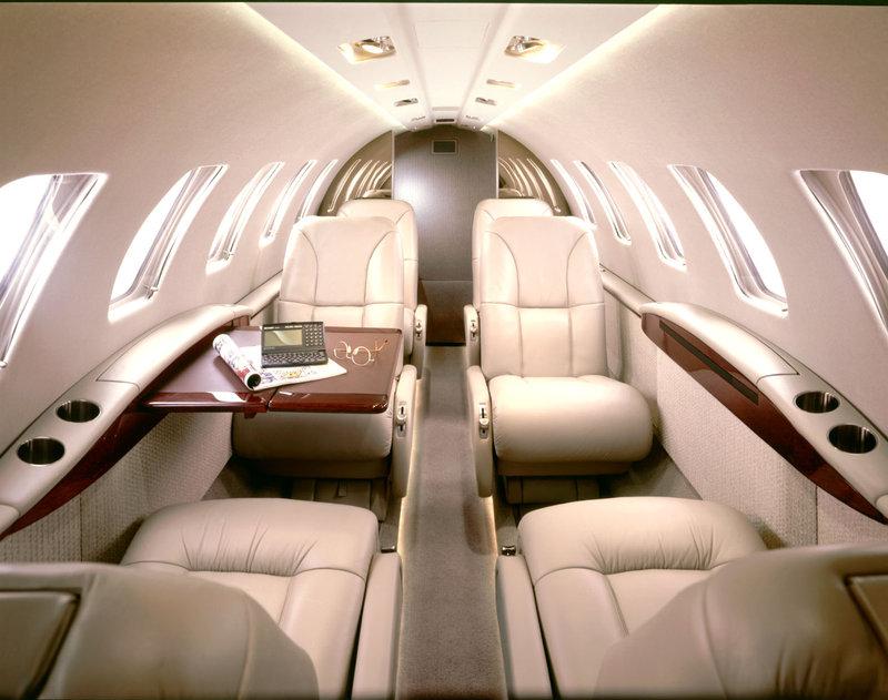 Young  Island  Resort-Private Jet Interior<br/>Image from Leonardo