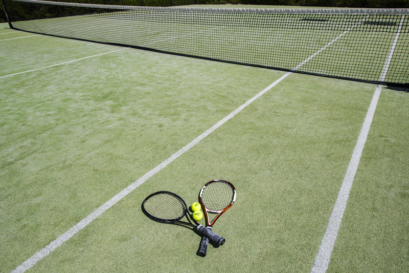 Young  Island  Resort-Canouan Estate Tennis Courts<br/>Image from Leonardo