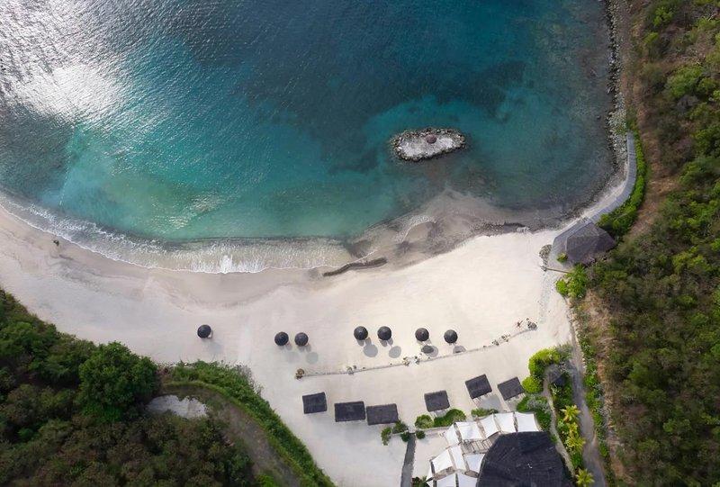 Young  Island  Resort-Canouan Estate L'Ance Guyac Beach<br/>Image from Leonardo