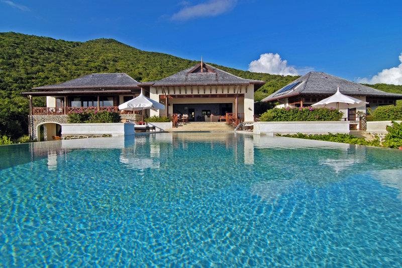 Young  Island  Resort-Silver Turtle Six Bedroom Villa Pool<br/>Image from Leonardo