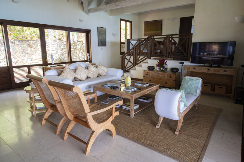 Young  Island  Resort-Villabu Four Bedroom Villa Living Area<br/>Image from Leonardo