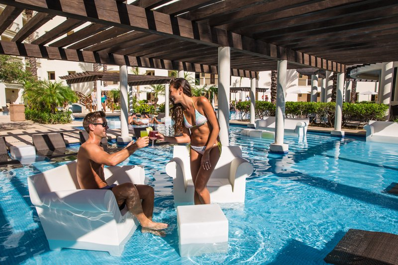 Hyatt Ziva Los Cabos - Adult Only Pool Seating Area <br/>Image from Leonardo