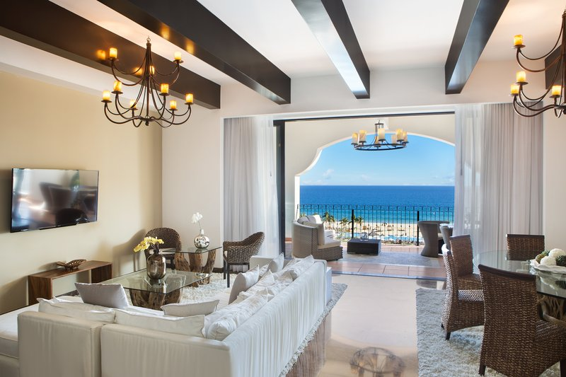 Hyatt Ziva Los Cabos - Presidential Suite Living Area <br/>Image from Leonardo