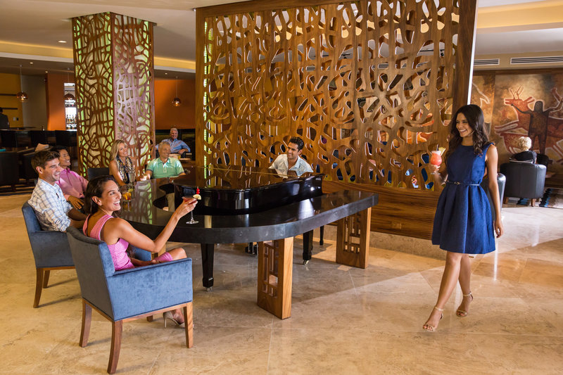 Hyatt Ziva Los Cabos - El Piano Lobby Bar <br/>Image from Leonardo