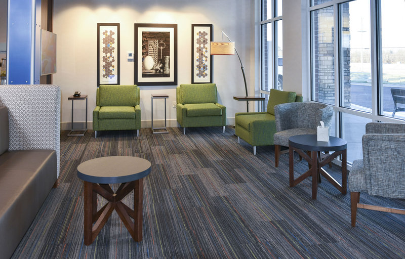 Holiday Inn Express And Suites Madisonville-Lobby Seating Area<br/>Image from Leonardo