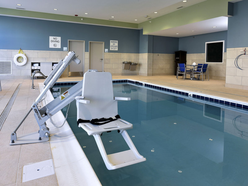 Holiday Inn Express And Suites Madisonville-Indoor Heated Pool with Handicap Lift Chair<br/>Image from Leonardo