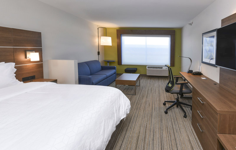Holiday Inn Express And Suites Madisonville-King Suite Guestroom<br/>Image from Leonardo
