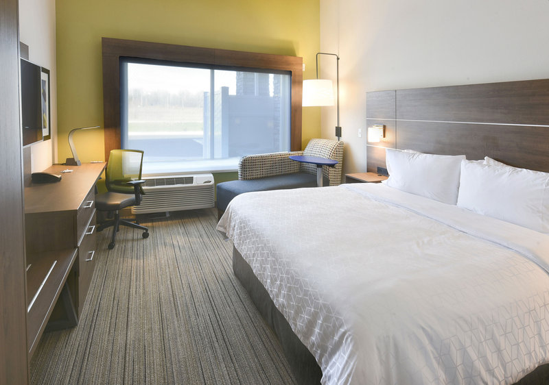 Holiday Inn Express And Suites Madisonville-Standard King Guestroom<br/>Image from Leonardo