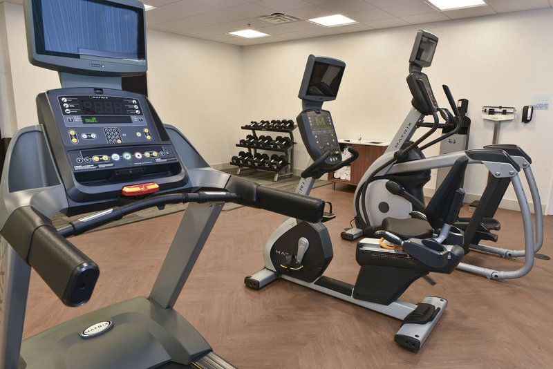 Holiday Inn Express And Suites Madisonville-Fitness Center Cardio Equipment<br/>Image from Leonardo