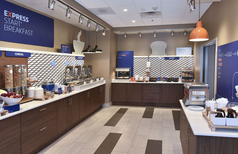 Holiday Inn Express And Suites Madisonville-Breakfast Bar with Delicious Selections<br/>Image from Leonardo