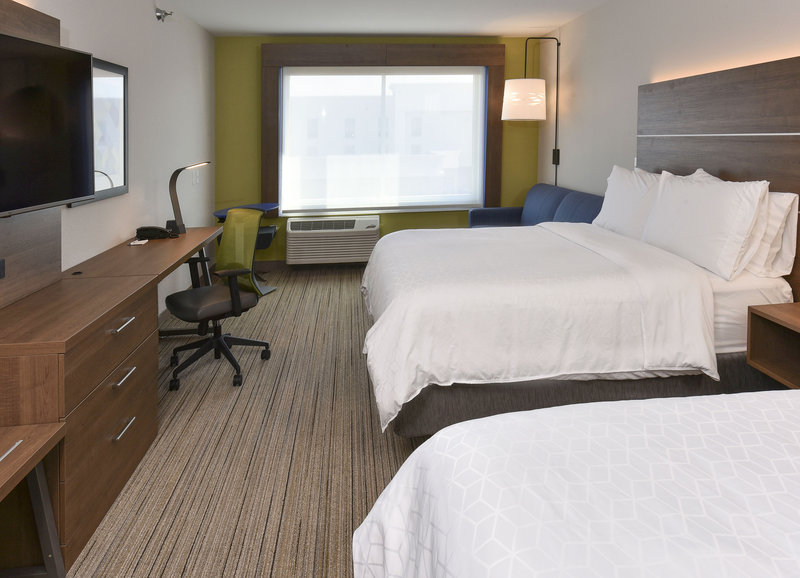 Holiday Inn Express And Suites Madisonville-2 Queen Suite Guestroom<br/>Image from Leonardo