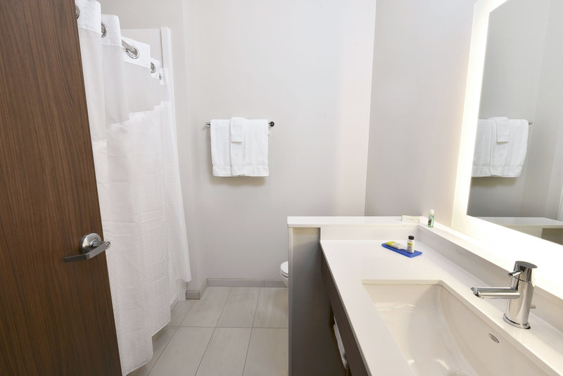 Holiday Inn Express And Suites Madisonville-Guest Bathroom<br/>Image from Leonardo