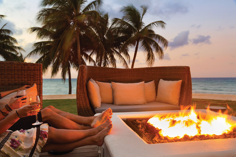 Hyatt Ziva Rose Hall - Fire Pits <br/>Image from Leonardo