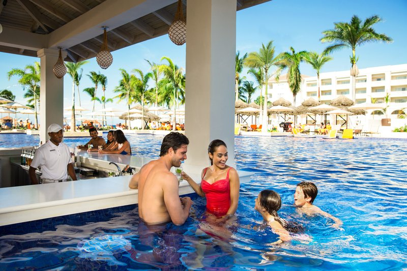 Hyatt Ziva Rose Hall - Lagoonz Swim Up Bar <br/>Image from Leonardo