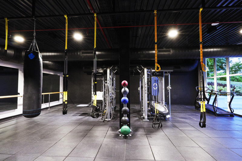 Hyatt Ziva Rose Hall - Fitness Center TRX <br/>Image from Leonardo