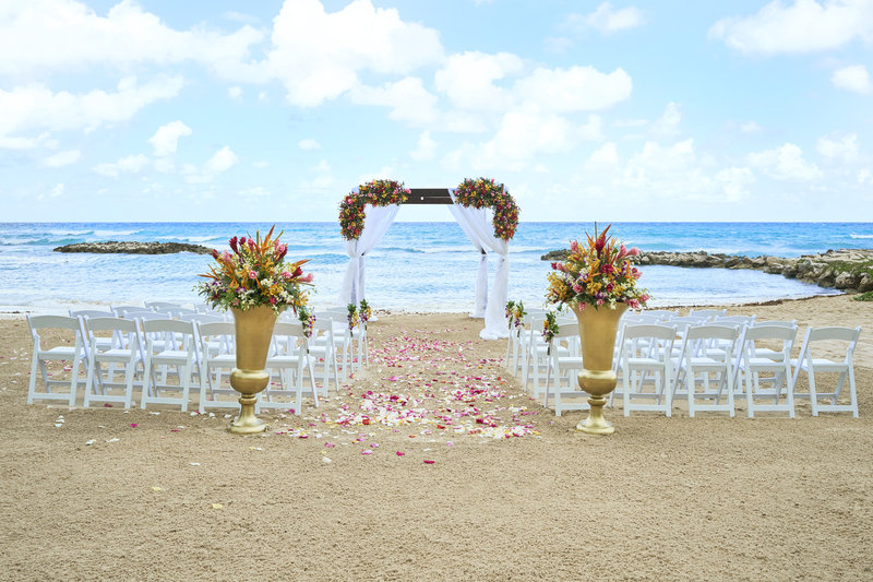 Hyatt Ziva Rose Hall - Beach Wedding <br/>Image from Leonardo